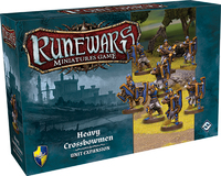 Runewars Miniatures Game: Heavy Crossbowmen Unit Expansion