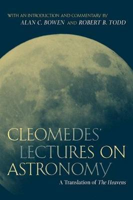 Cleomedes' Lectures on Astronomy by Cleomedes image