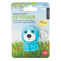 Barking Puppy Keychain