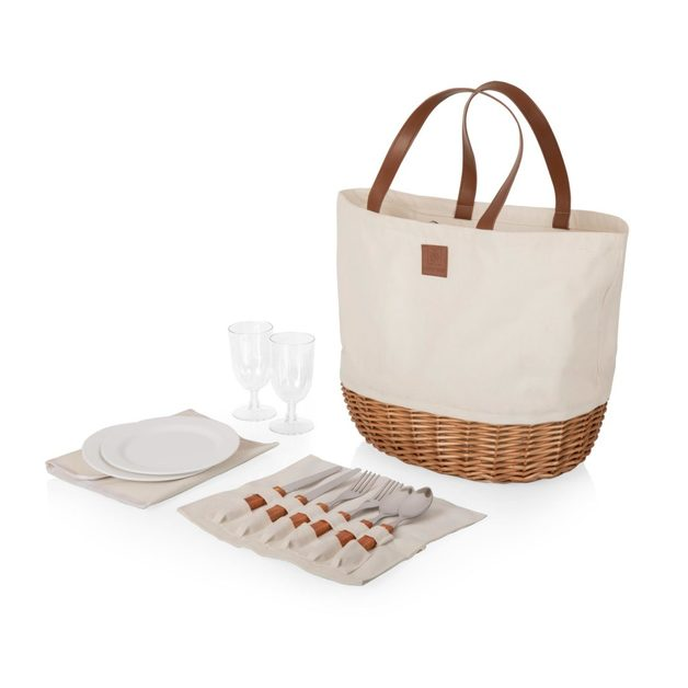 Picnic Time: Promenade Picnic Basket (Canvas)
