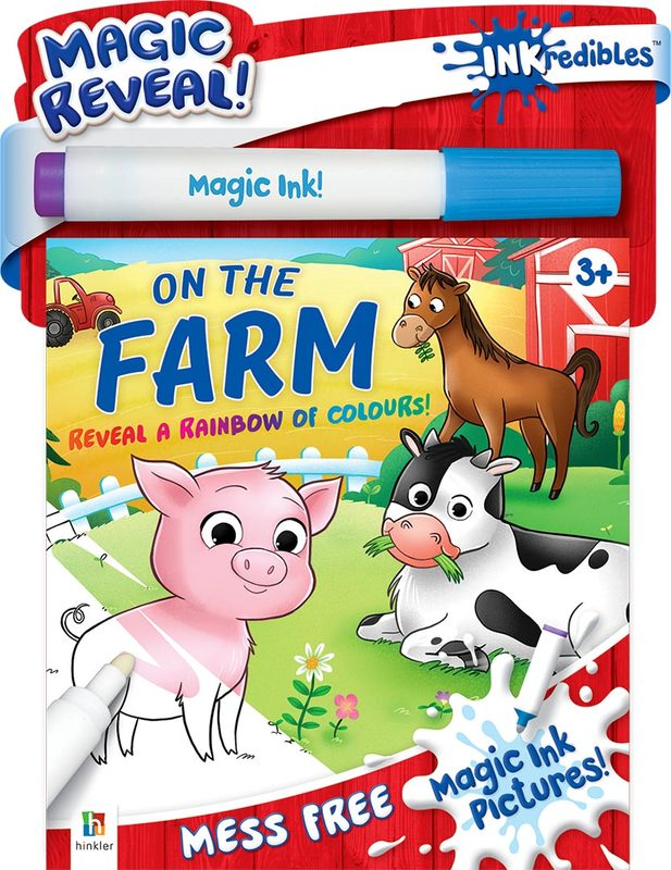 Inkredibles: Magic Ink Pictures - On the Farm