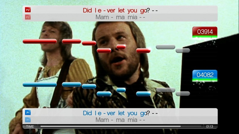 SingStar ABBA (Game Only) screenshot