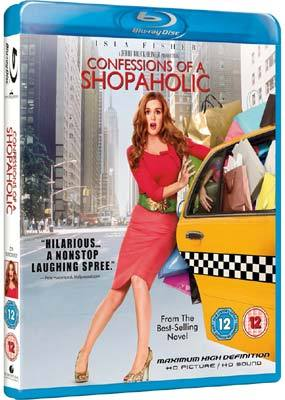 Confessions of a Shopaholic on Blu-ray