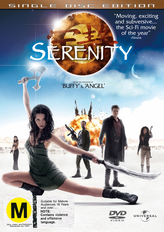Serenity (Single Disc Edition) on DVD