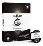 Caffe Aurora Espresso Coffee Capsules
