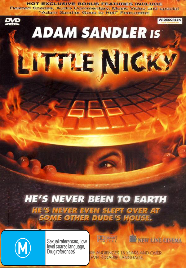 Little Nicky on DVD image