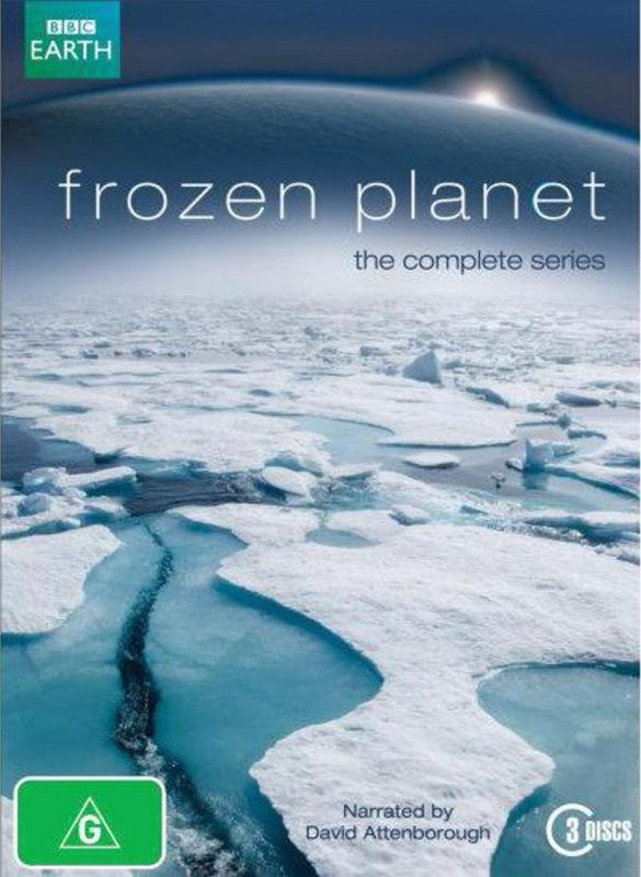 Frozen Planet - The Complete Series on DVD