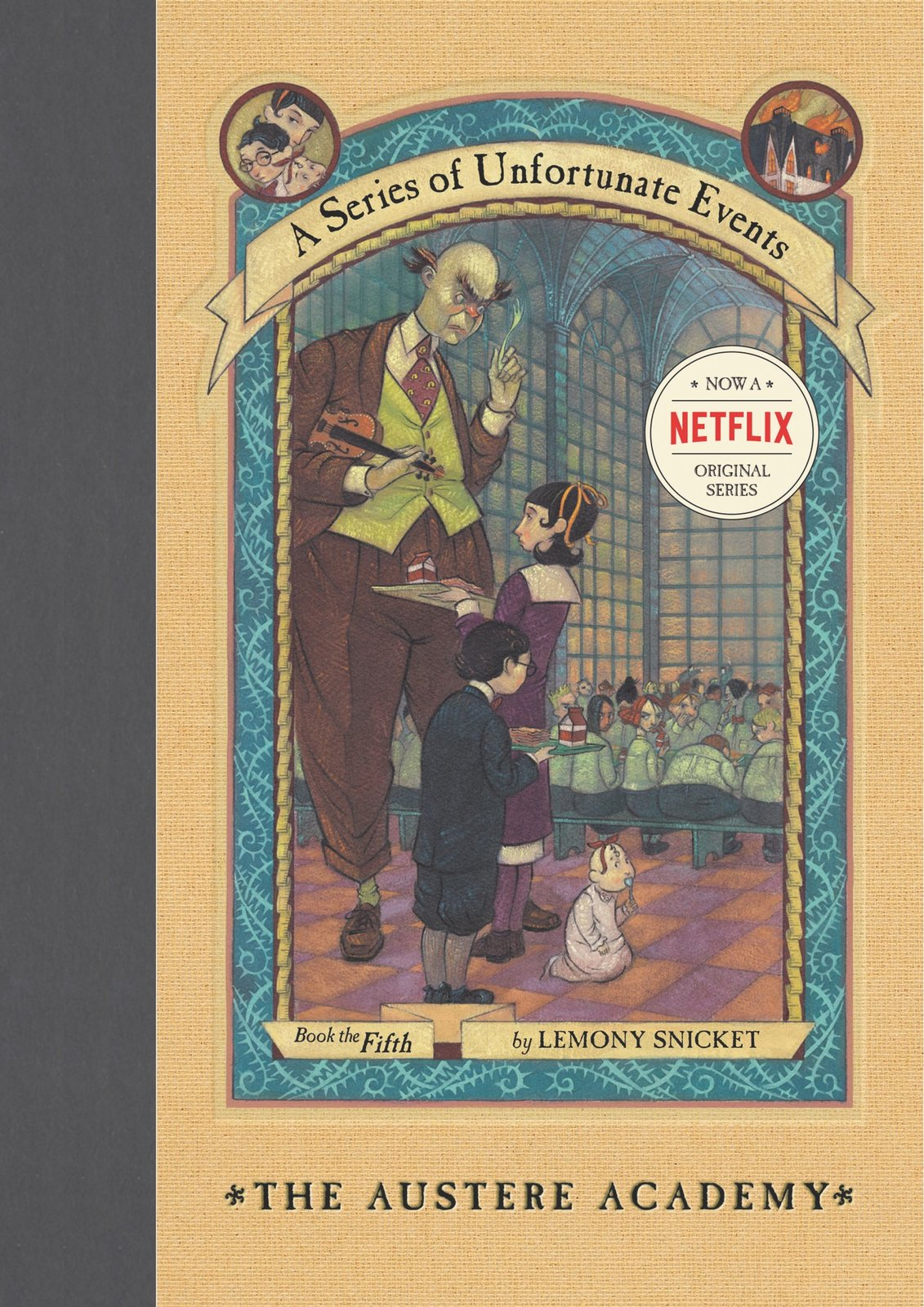 The Austere Academy (A Series of Unfortunate Events #5) by Lemony Snicket image