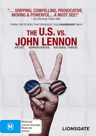 The U.S. Vs. John Lennon on DVD image
