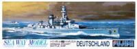 "Fujimi: 1/700 Waterline Series - German Battleship ""Deutschland"" - Model Kit"