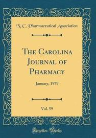 The Carolina Journal of Pharmacy, Vol. 59 by N C Pharmaceutical Association image