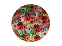 Maxwell & Williams: Teas & C's Glastonbury Plate - Poppy Aqua (20cm)