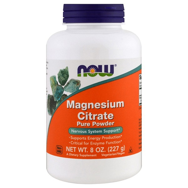 Now Foods Magnesium Citrate Pure Powder (227g)