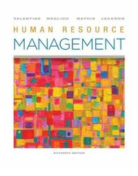 Human Resource Management by Robert L Mathis