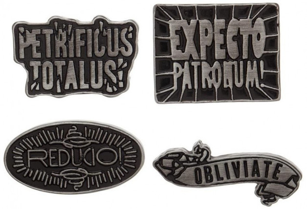 Creatures Lapel Pin Set Accessories--Harry Potter