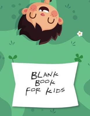 Blank Book For Kids by Blue Elephant Books image