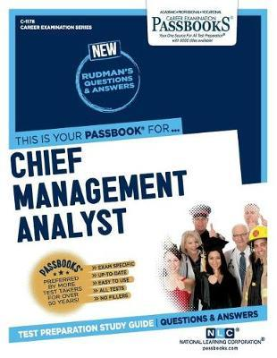 Chief Management Analyst by National Learning Corporation image