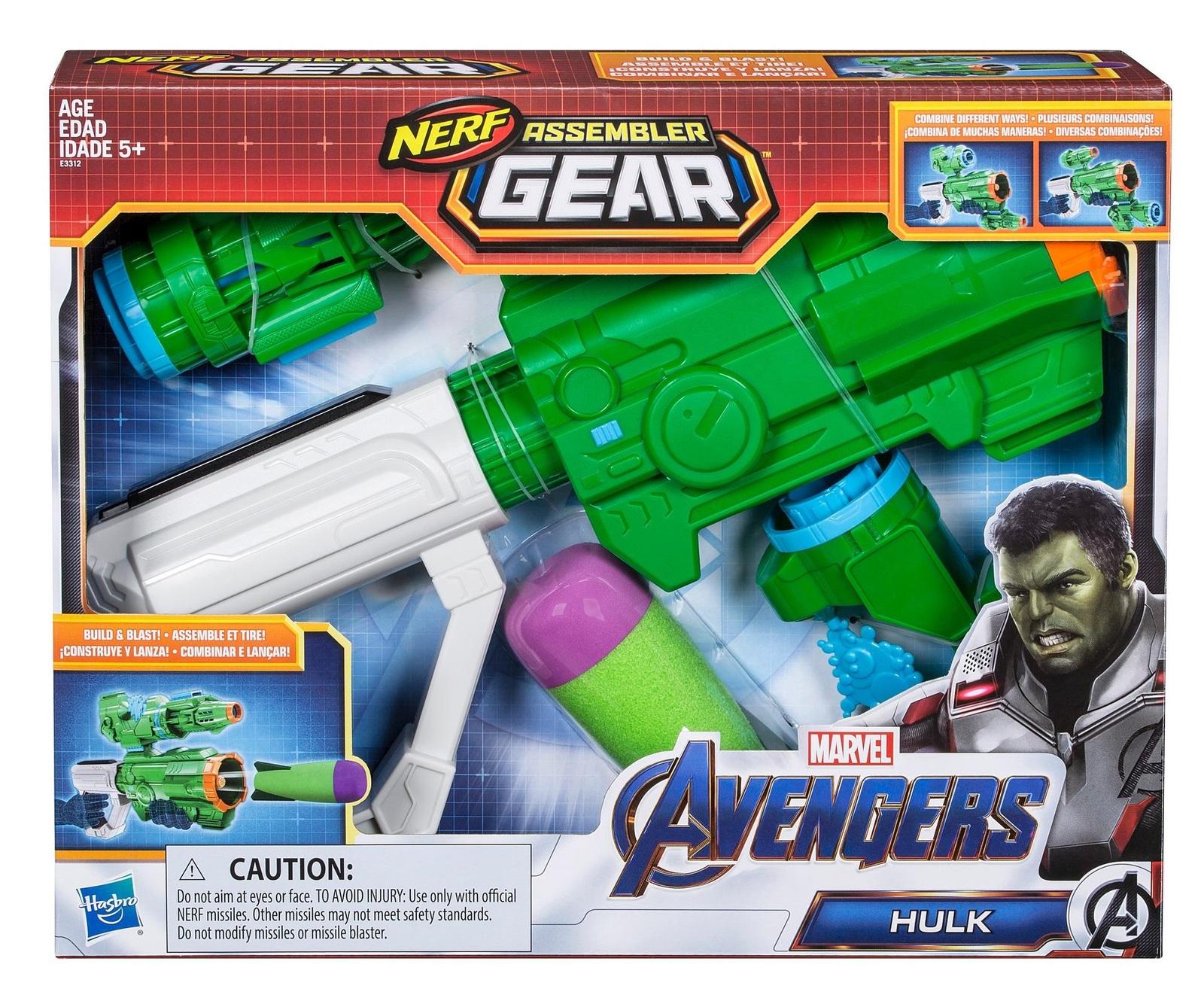 Nerf Avengers: Assembler Gear - Hulk image