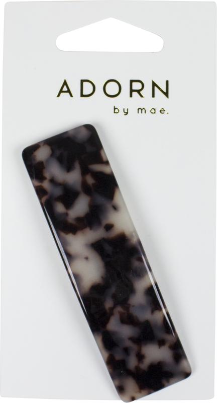 Mae: Adorn Flat Clip Tort 8.5cm