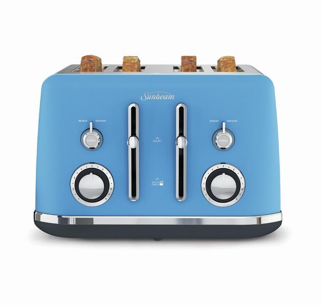 Sunbeam: Alinea Collection 4 Slice Toaster - Harbour Sky