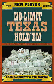 No-limit Texas Hold'em by Brad Daugherty image