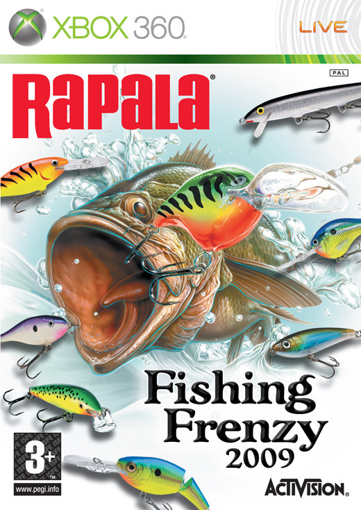 Rapala Fishing Frenzy for Xbox 360