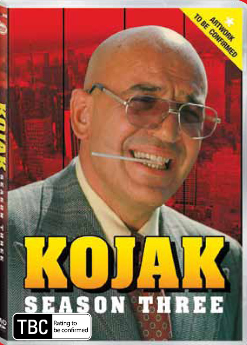 Kojak - Season 3 (6 Disc Set) on DVD