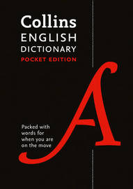 Collins English Pocket Dictionary by Collins Dictionaries