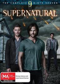 Supernatural - The Complete Ninth Season on DVD image