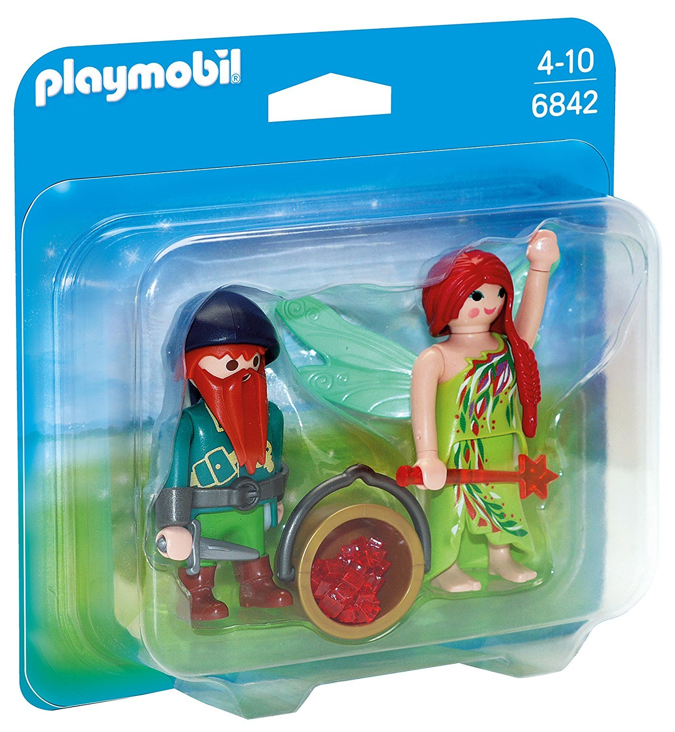 Playmobil: Elf and Dwarf Duo Pack image