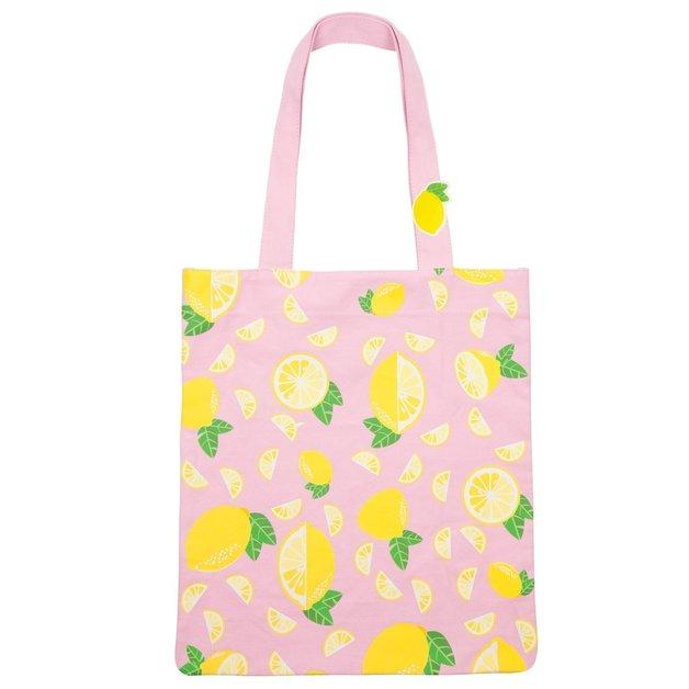 b0a8537988 Sunnylife Tote Bag - Lemon