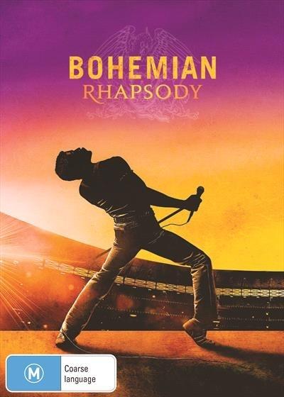 Bohemian Rhapsody on DVD image
