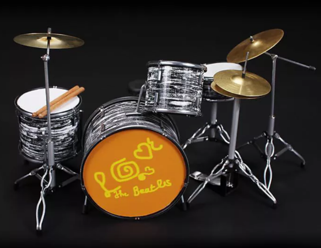 Axe Heaven: Miniature Replica - LOVE Magical Mystery Tour Drums (Ringo Starr)