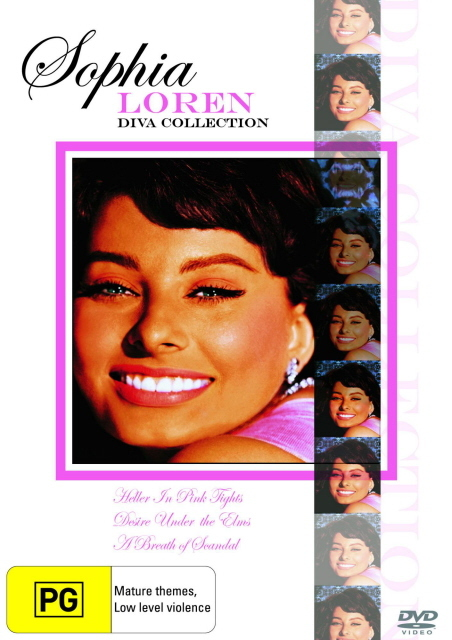 Sophia Loren - Diva Collection (3 Disc Box Set) on DVD