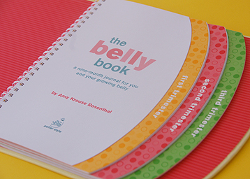 The Belly Book: A Nine-month Journal for You and Your Growing Belly image