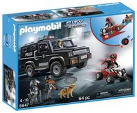 Playmobil: City Action Tactical Unit Club Set (5647)