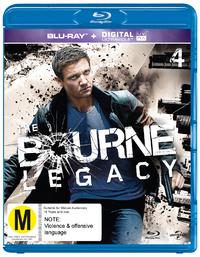 The Bourne Legacy on Blu-ray, UV image