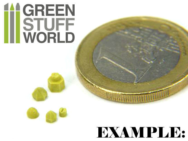 Green Stuff World : Rivet Rubber Molds image