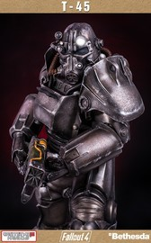 Fallout 4 - T-45 Power Armor 1:4 Scale Statue