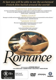 Romance on DVD image