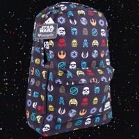 Loungefly Star Wars Multi Symbol Print Backpack image