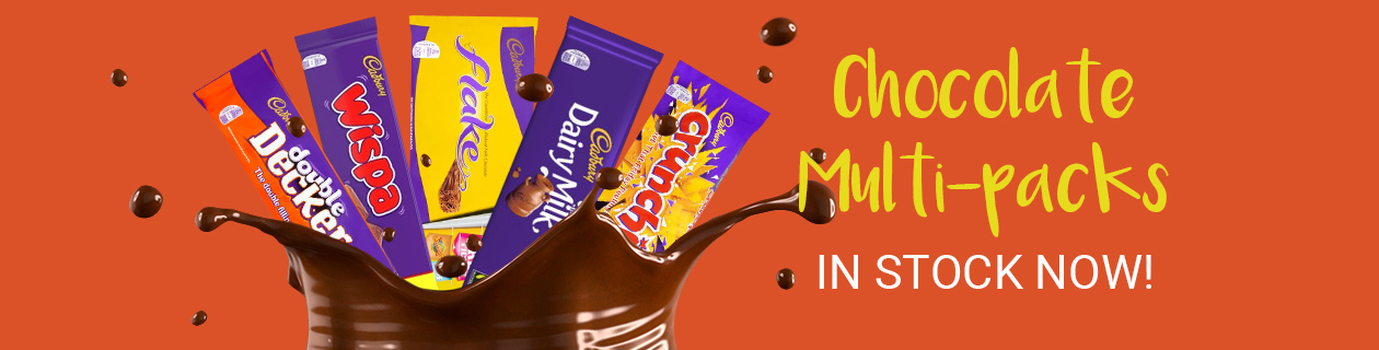 New Chocolate Multipacks have landed!