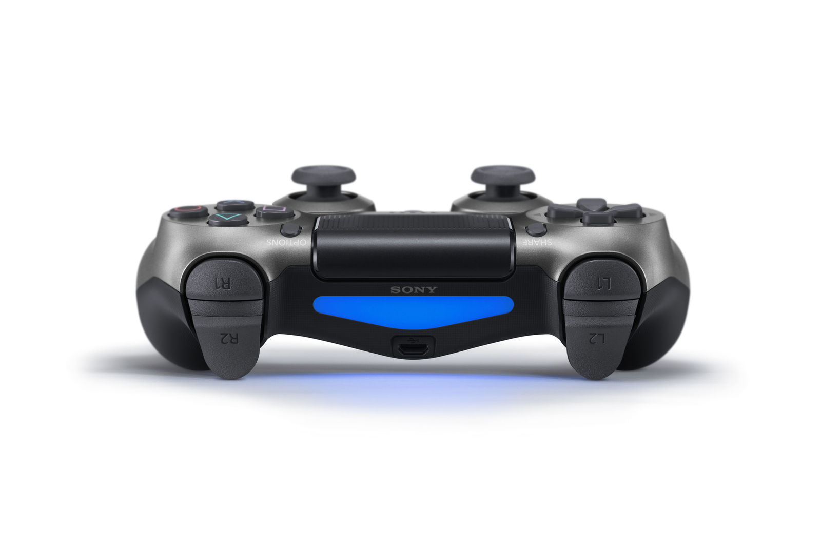 PlayStation 4 Dual Shock 4 v2 Wireless Controller - Steel Black for PS4 image