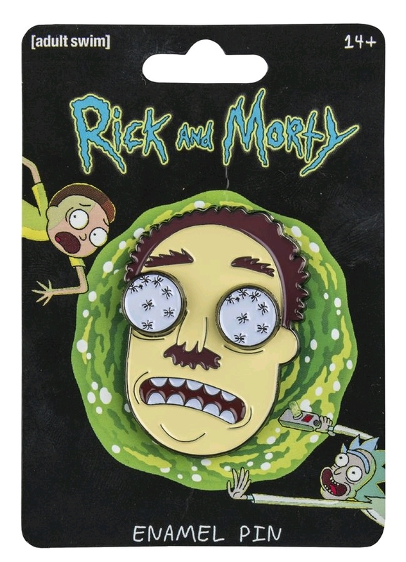 Rick and Morty: Enamel Pin - Ants-in-my-Eyes Johnson