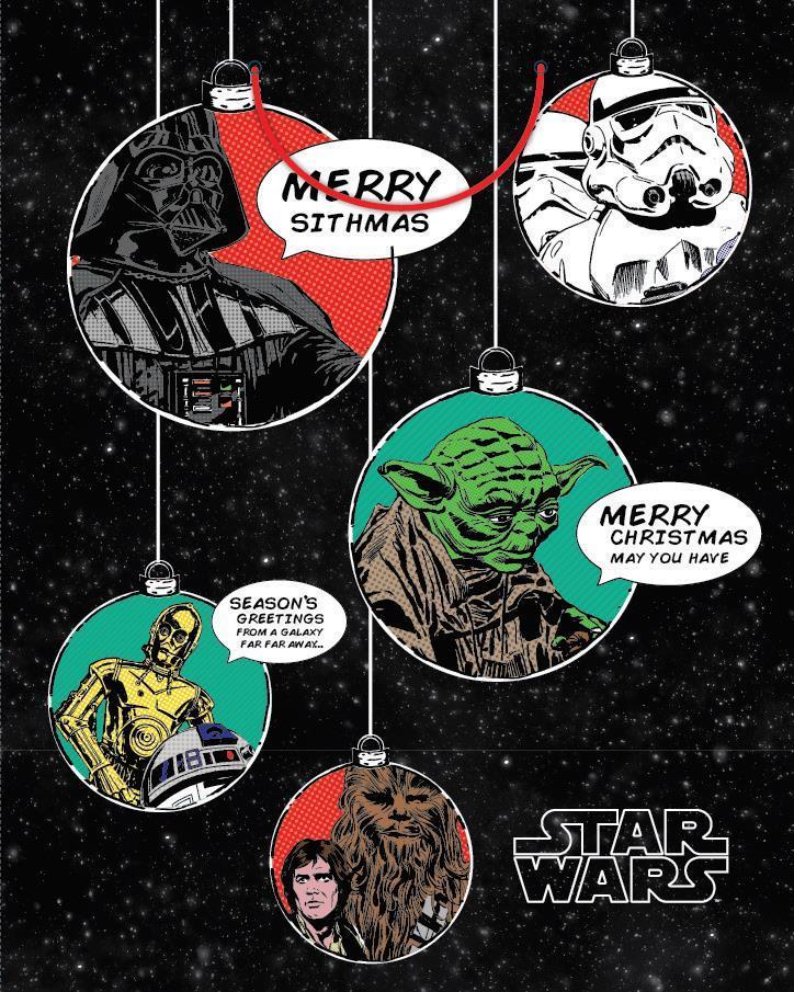 Disney Christmas Gift Bag - Star Wars (Large) image