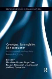 Commons, Sustainability, Democratization