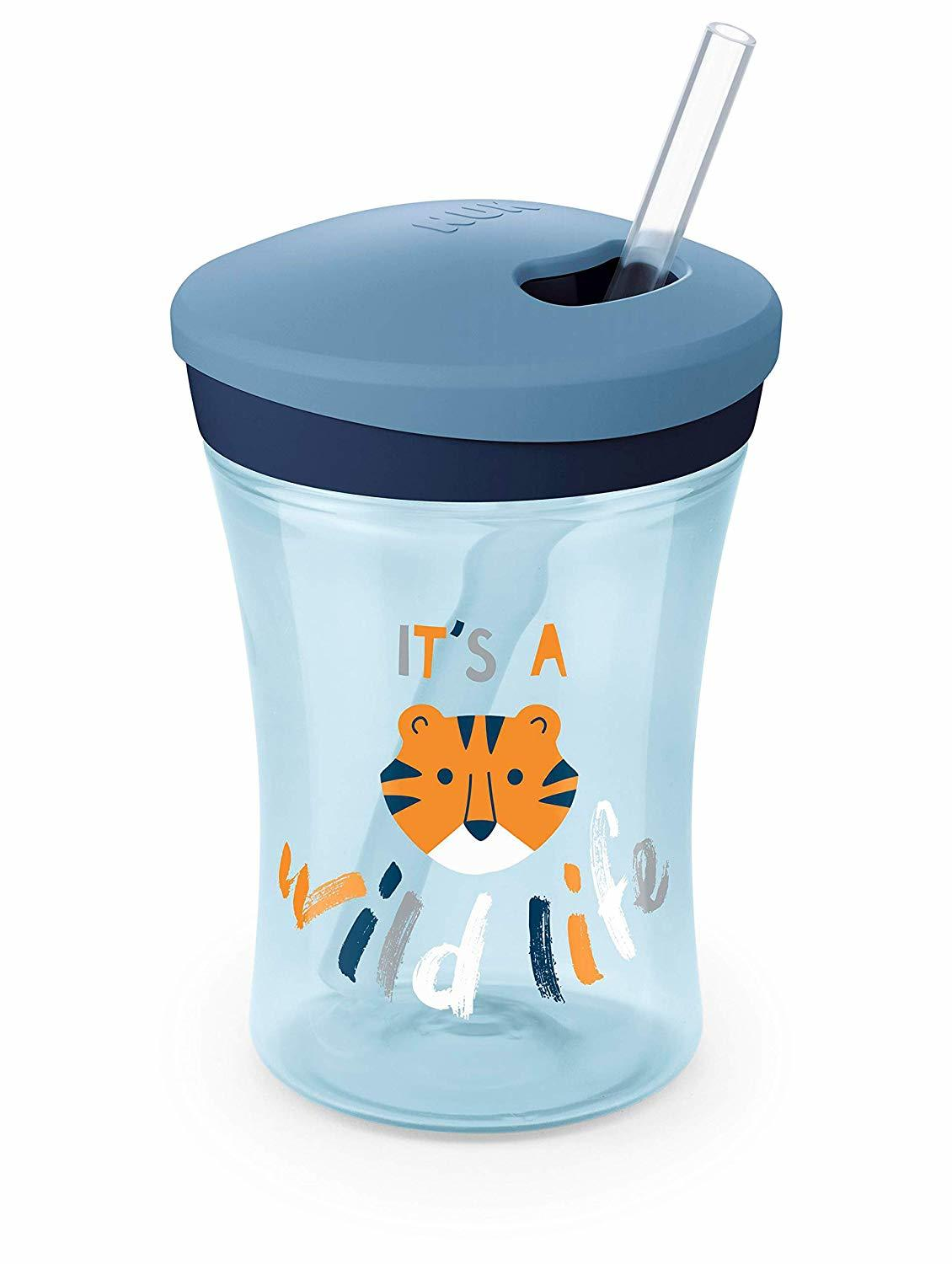 NUK: Evolution Action Cup 230ml - Blue image