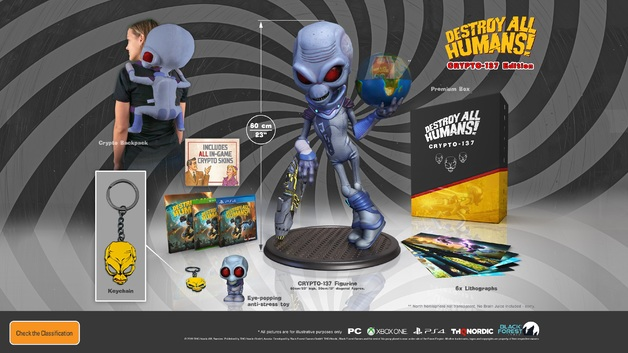 Destroy All Humans! Crypto 137 Edition for PS4