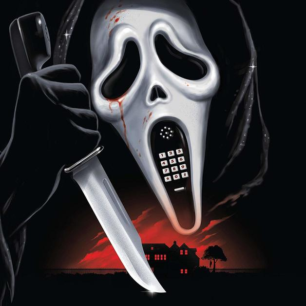 Scream / Scream 2 (Music From The Dimension Motion Pictures / Red Vinyl) by Marco Beltrami