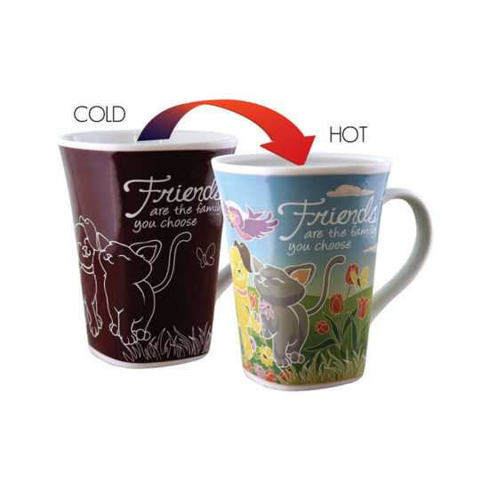 Ollee Bee: Colour Changing Story Mug - Friend